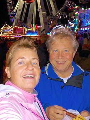 Sase und Jens auf dem Freimarkt