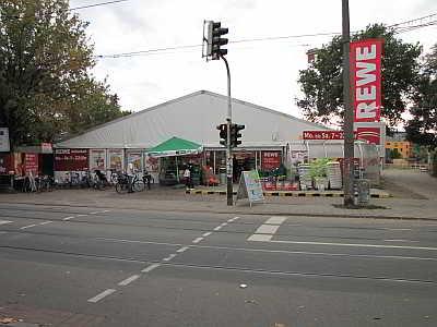 Zeltverkauf am  Buntentorsteinweg