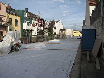 Billard, Kegelbahn und Gaststätte - alles ist weg